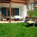 Terasse und Garten